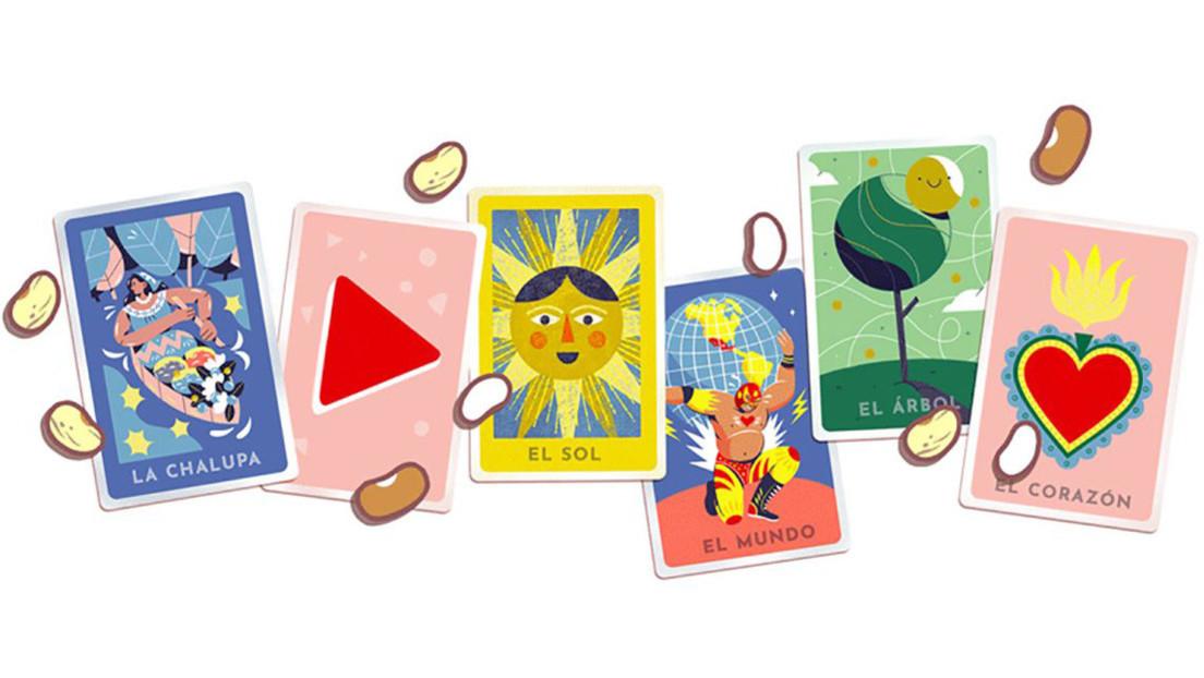 Google hace este homenaje al juego de la lotería de México con un 'doodle' interactivo multijugador