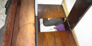 Pillan a 11 chinos ocultos en escondrijos de muebles y electrodomésticos que intentaban entrar ilegalmente a EE.UU.