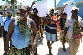 Bougainville vota a favor de su independencia
