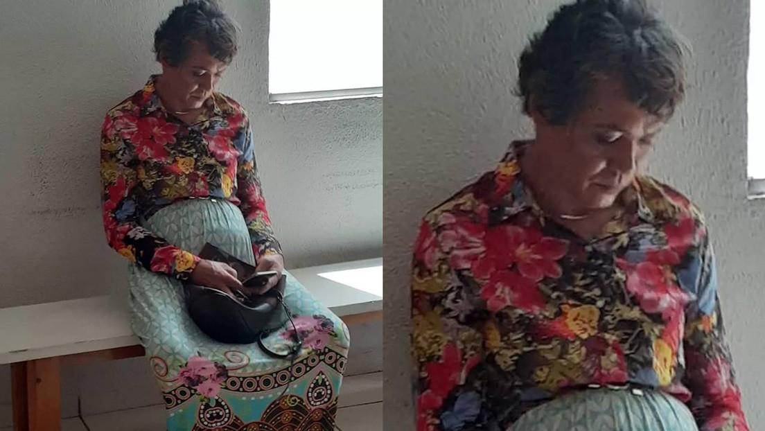 Este tipo se disfraza de su madre de 60 años para pasar el examen del carnet de conducir y lo pillan