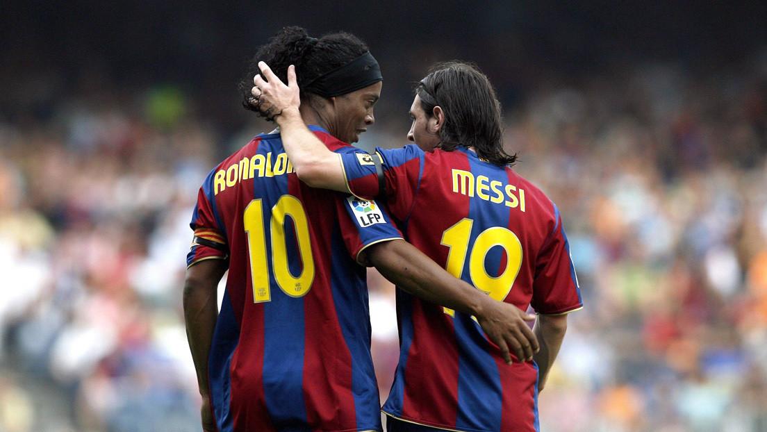 ¿Sabías que Ronaldinho no considera a Messi el mejor futbolista de la historia?