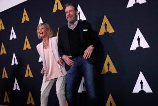 John Travolta y Olivia Newton-John vuelven a encarnar sus personajes de 'Grease' en el 41.º aniversario de su estreno