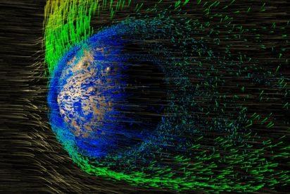 Así son las auroras polares en Marte