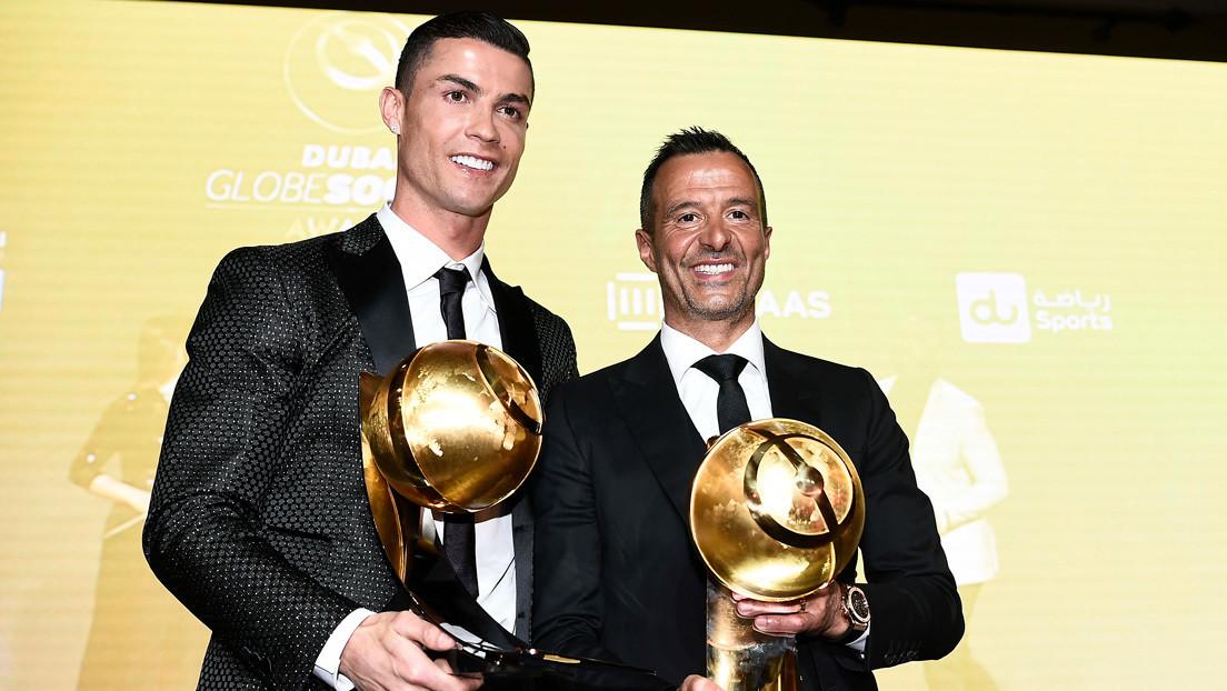 """El representante de Cristiano Ronaldo cree que ha sido """"injusta"""" la entrega del Balón de Oro a Messi y no a su cliente"""
