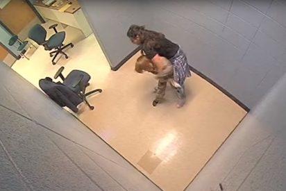 """Este niño de 7 años se queja de una """"oficina aterradora"""" en su escuela terapéutica en EE.UU. y su madre se horroriza al ver este video"""