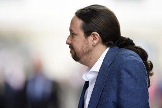 Una foto de Pablo Iglesias que muestra su peor cara incendia las redes y hunde al 'vicepresidente'