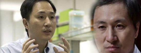 Condenan a 3 años de cárcel al científico chino que modificó bebés genéticamente