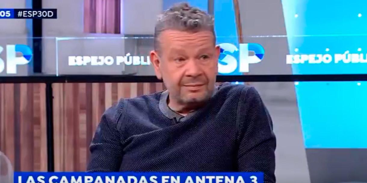 Chicote se agarra un cabreo monumental en TV cuando le preguntan algo 'poco elegante'