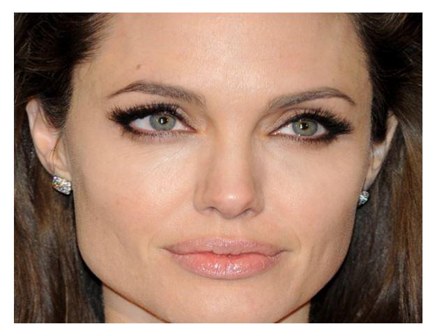 maquillaje nude de Angelina Jolie