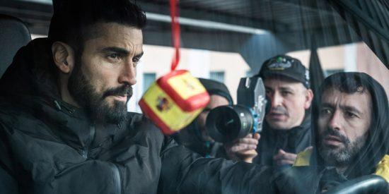 'Antidisturbios', la serie dirigida por Rodrigo Sorogoyen, afronta sus últimos días de rodaje