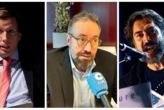 """El 'pobre' Javier Bardem insulta al alcalde de Madrid y este le replica en redes con la ayuda de Girauta: """"Gilipollas"""""""