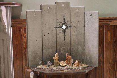Banksy reinterpreta la Navidad