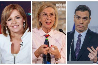Rosa Díez rectifica a 'El País de los socialistas' y les recuerda que el desplome de la audiencia de TVE es la consecuencia de estar