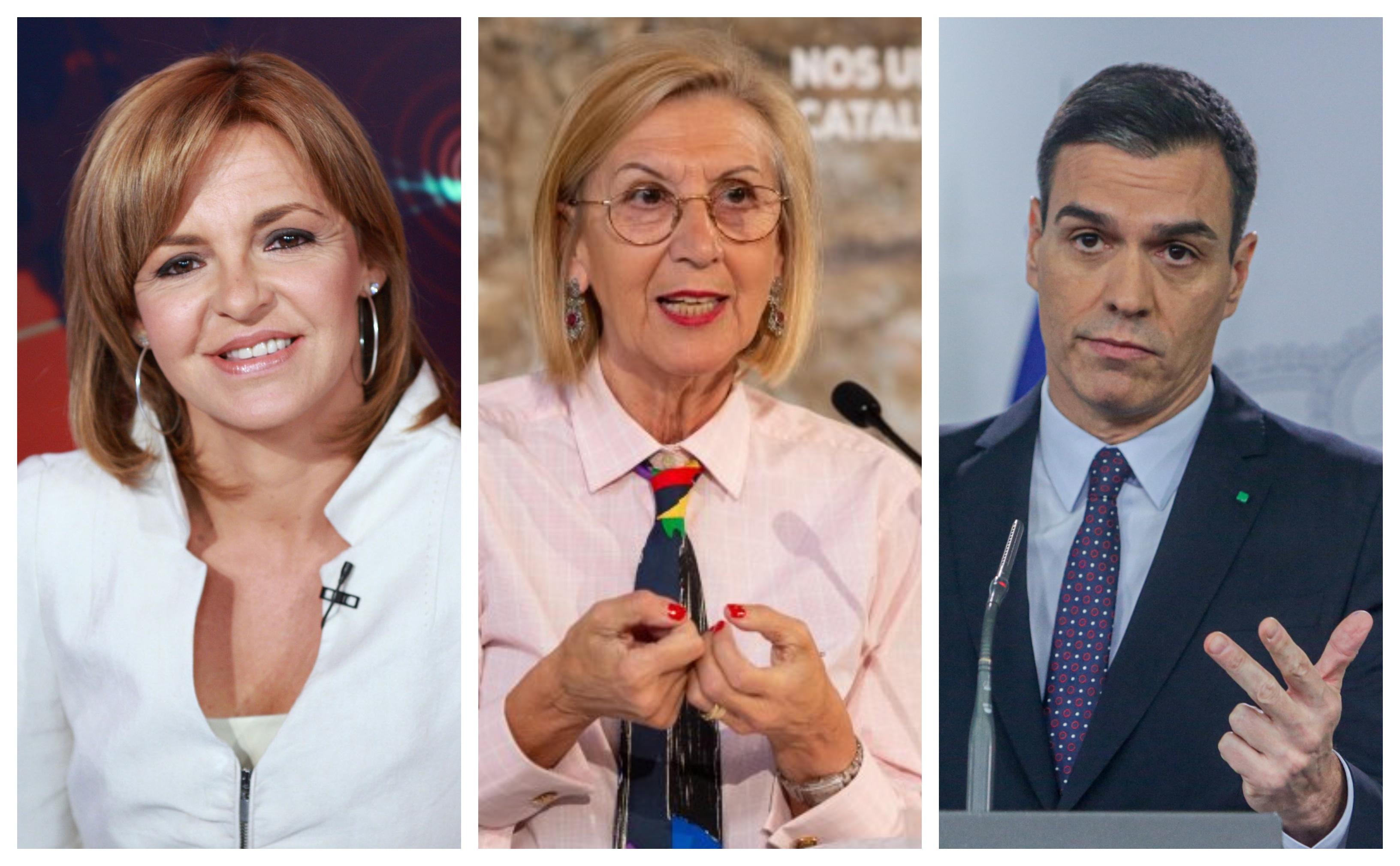 """Rosa Díez rectifica a 'El País de los socialistas' y les recuerda que el desplome de la audiencia de TVE es la consecuencia de estar """"al servicio de Sánchez"""""""