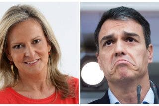 """El recado de Isabel San Sebastián a Pedro Sánchez: """"Es cómplice de los cafres al mendigar el apoyo de ERC y de los herederos de ETA"""""""