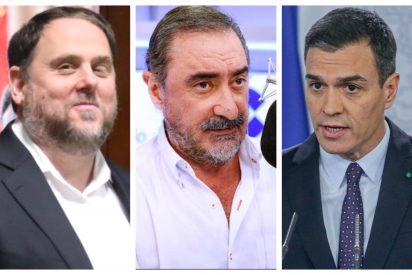 """Herrera le carga a Sánchez la factura de la sentencia de Junqueras: """"Europa ha visto como el presidente negocia con los golpistas"""""""