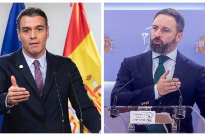 """Santiago Abascal le amarga el turrón navideño a Pedro Sánchez: """"No tiene principios, sólo busca el poder"""""""