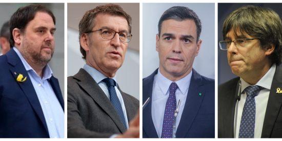 El pesimista baño de realidad que nos brinda Feijóo dando por hecho el entreguismo de Sánchez a los golpistas Junqueras y Puigdemont