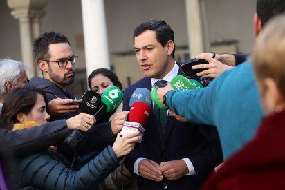 """Moreno Bonilla se siente """"indignado"""" con el ataque de Sánchez a Andalucía"""