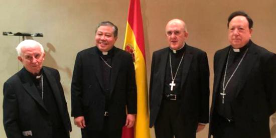 Bernardito Auza se incorpora a la Nunciatura Apostólica en España