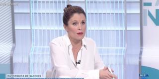 """Una tertuliana de TVE defiende que el insensato de Pedro Sánchez negocie con un golpista en la cárcel: """"Necesitamos un gobierno"""""""