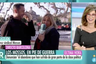 El memorable 'palo' de Ana Rosa Quintana a una pesadísima Mayka Navarro