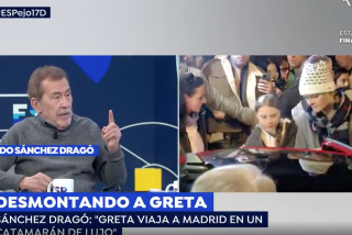 """Sánchez Dragó pone a parir a Greta Thunberg: """"Es una vivales que pretende forrarse a cuenta del Apocalipsis"""""""
