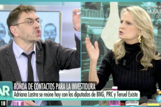 """Isabel San Sebastián humilla al """"maleducado"""" Monedero por tenerle tanto odio a Cayetana: """"¡Eres un cobarde!"""""""