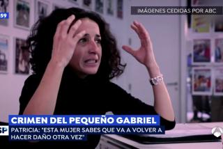 """La madre del pequeño Gabriel desafía a los 'progres' del 'Todos somos Ana Julia': """"No debería salir nunca más de la cárcel"""""""