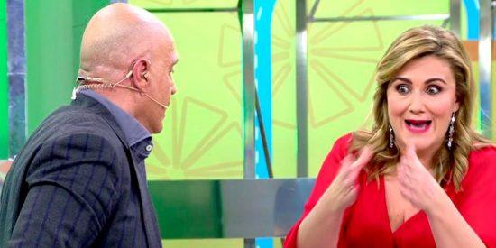 Carlota Corredera y Kiko Matamoros ofrecen un bochornoso espectáculo en 'Sálvame'