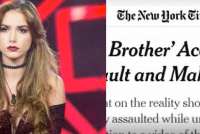 Hasta el todopoderoso New York Times se hace eco del caso Carlota Prado y la nefasta actuación de la productora de 'GH'