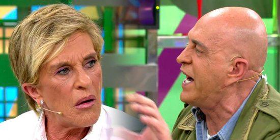 """""""Lameculos"""" y """"bombilla apagada"""", los 'bonitos' calificativos que se dedican Kiko Matamoros y Chelo Gª Cortés"""