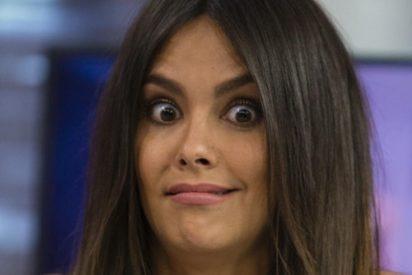 """Cristina Pedroche en la inauguración de su figura en el Museo de Cera: """"Me han puesto unas tet*s enormes"""""""