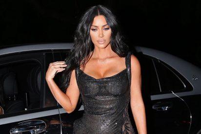 Transparencia de infarto: pillan a Kim Kardashian en Malibú grabando la última temporada del reality