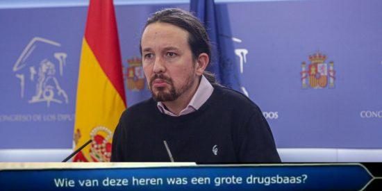 Pablo Iglesias, un 'importante narcotraficante' para una televisión holandesa