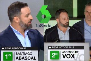 Santiago Abascal es lo peor del año para laSexta y los de VOX disfrutan de lo lindo con el intento de insulto
