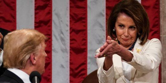 Impeachment: está es la feroz carta que Donald Trump manda a Nancy Pelosi, líder de los demócratas en el Congreso, Nancy Pelosi