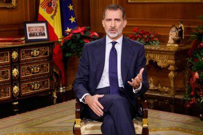 """El Rey Felipe VI deja patente su """"seria preocupación"""" por Cataluña"""