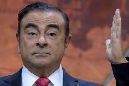 Carlos Ghosn, ex presidente de Nissan arrestado por corrupción, se fuga de Japón en un avión privado