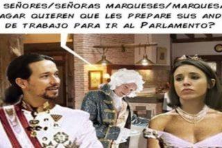La chirigota de los Marqueses de Galapagar: Pablo e Irene, su mansión y el servicio doméstico