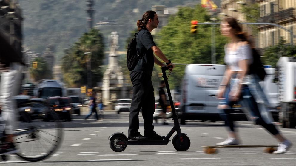 Muere una señora de 82 años atropellada por un patinete eléctrico en Barcelona