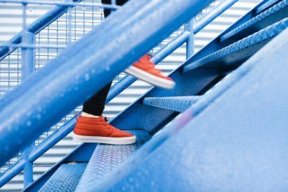 5 ejercicios para entrenar todo el cuerpo ¡Solo necesitas una escalera!