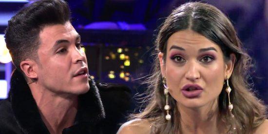 """Estela Grande le deja claro a Kiko Jiménez lo que piensa de él: """"Eres un mierda"""""""
