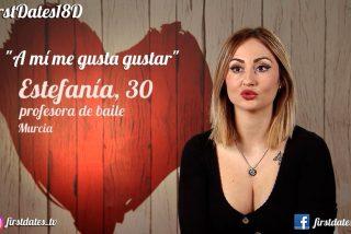 'First Dates', todos a cuadros con Estefanía: