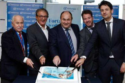 Air Europa despegó hacia Fortaleza con una ocupación superior al 90%
