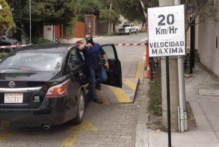 Así pillaron a los GEO de Sánchez en su intento de entrar a la Embajada de México en La Paz