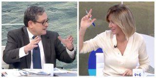 El Quilombo / Marhuenda se pitorrea de la 'sacerdotisa' Greta y Susanna Griso salta como un resorte: