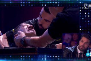 Pedro Volta, concursante de 'Got Talent', a punto de perder la vida en directo