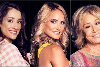 Adara, Mila Ximénez, Alba Carrillo y el maletín de GH VIP 7: tres monstruos televisivos, a 'empujones', en el tramo final