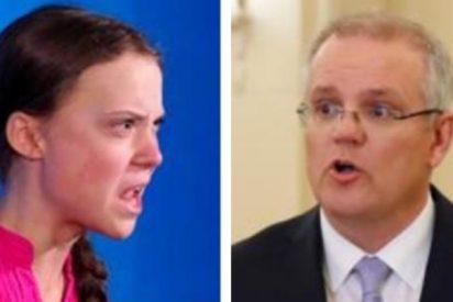 Greta Thunberg tiene una 'pelea incendiaria' con el primer ministro de Australia
